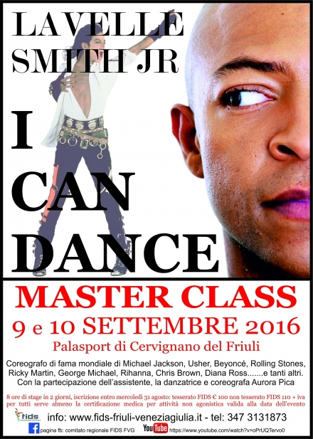 MASTER  LaVelle Smith Junior - a.s.d. ACCADEMIA DANZE TRIESTE